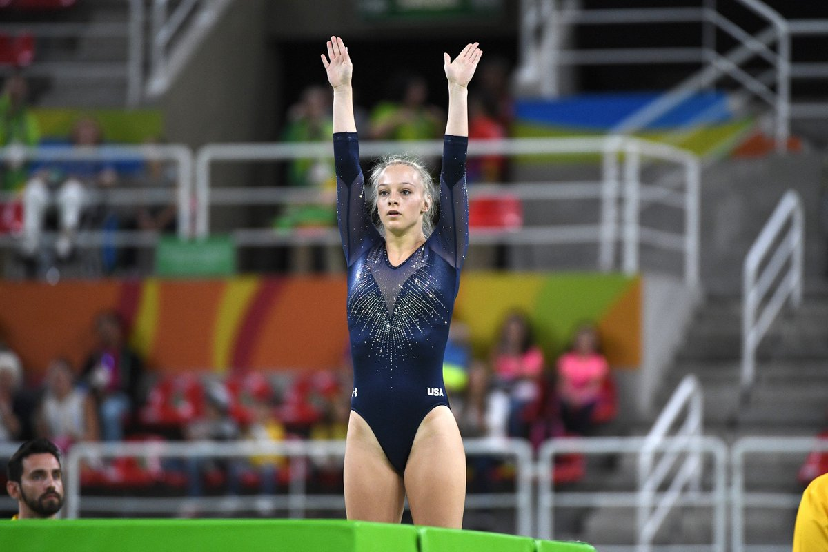 Olympic Trampolinist, Nicole Ahsinger, Jumps to Tokyo for the Gold